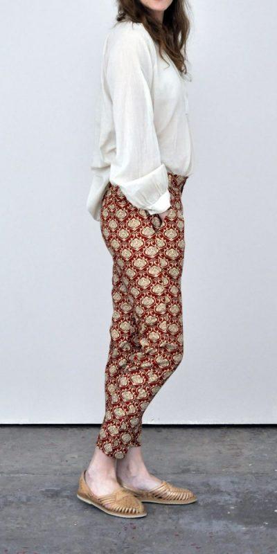 Pantalon Deedi Rouge