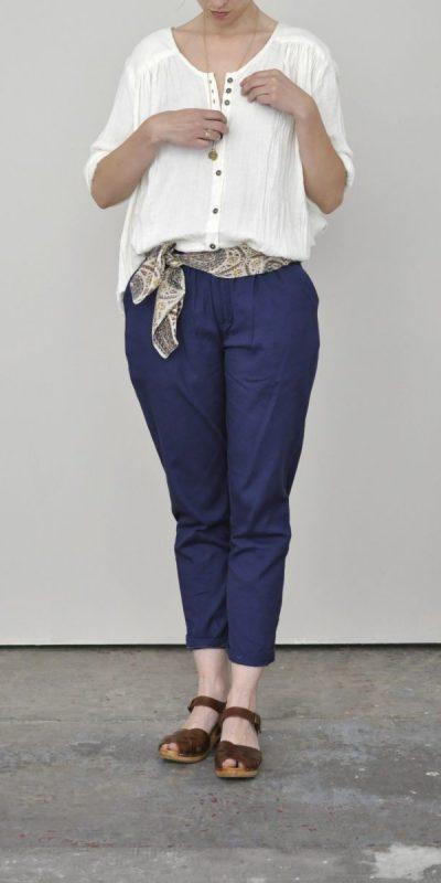 Pantalon Coton Uni