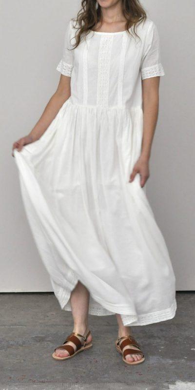 Robe Walla Blanche