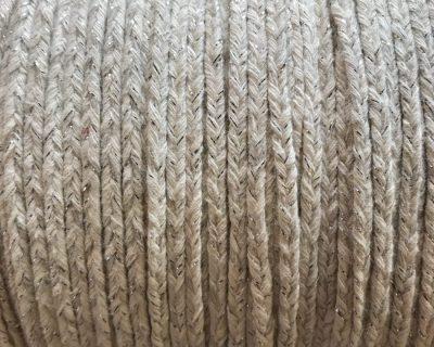 Tresse Coton Blanc et Lurex